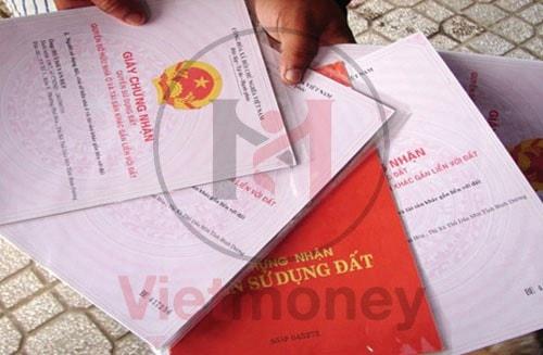 Cầm sổ đỏ VietMoney