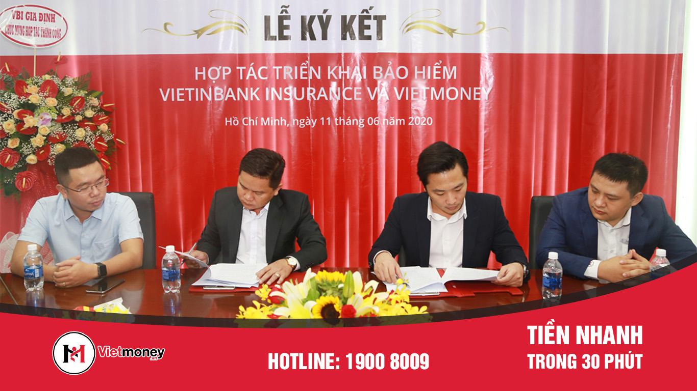 Vietmoney ký kết thỏa thuận hợp tác bảo hiểm với VBI (VietinBank Insurance)