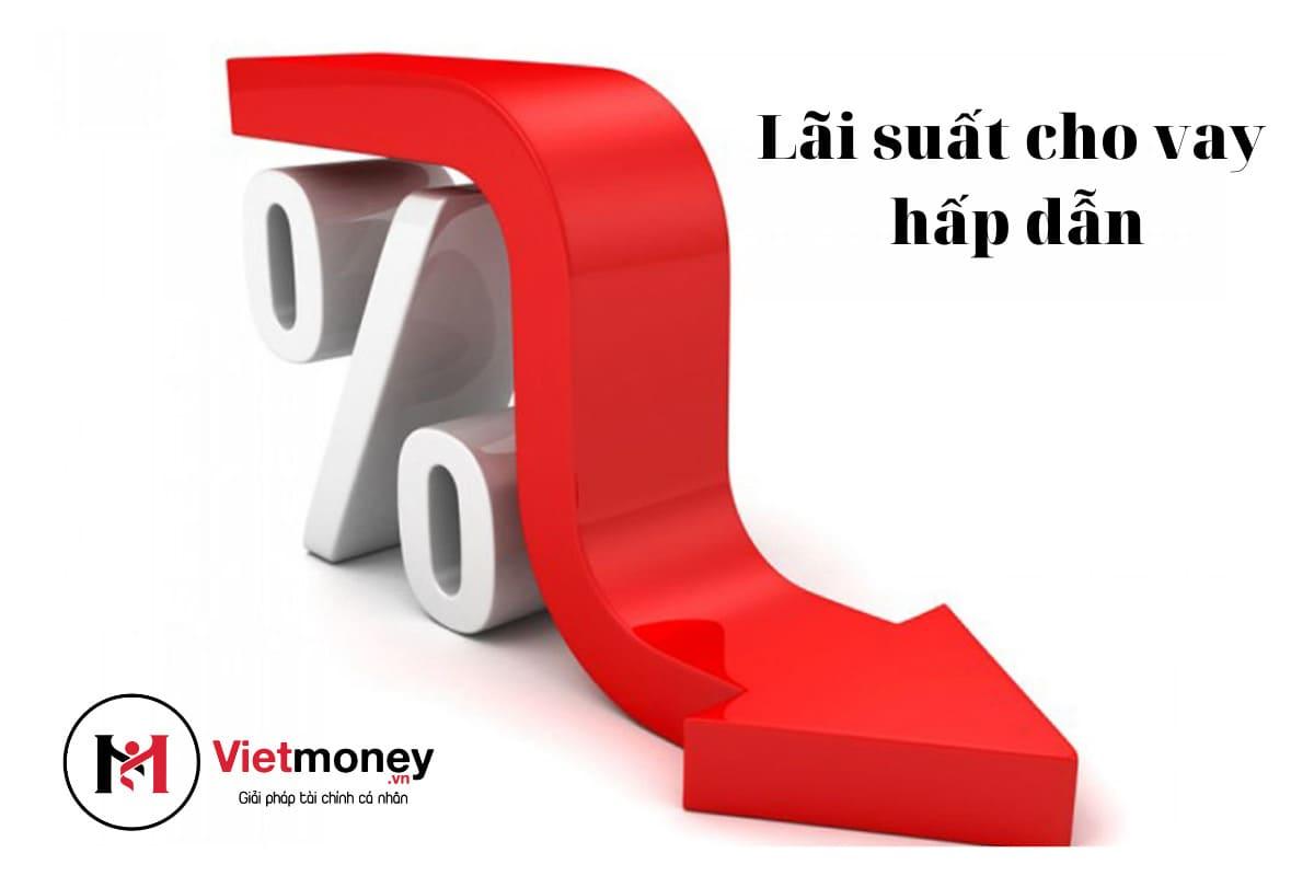 lãi suất hấp dẫn khi cần vay vốn gấp