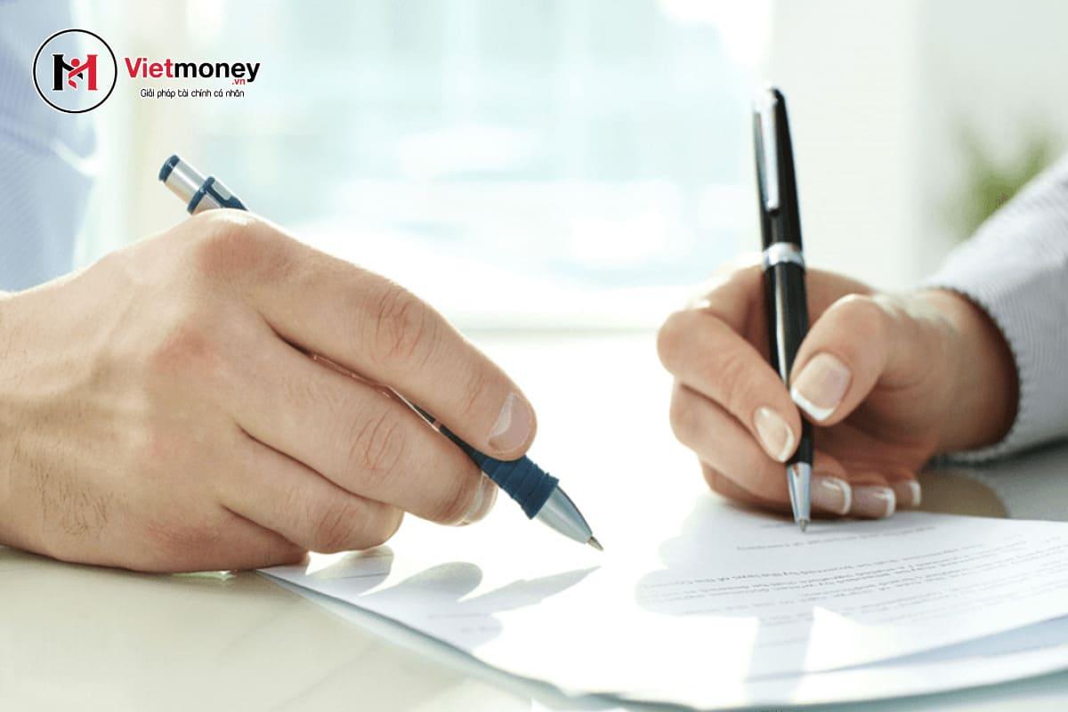 mẫu giấy vay tiền viết tay mới nhất mẫu giấy cho vay tiền ngắn gọn đơn giản