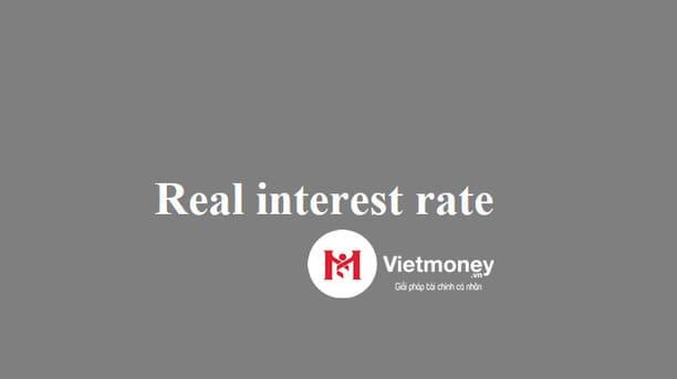 lãi suất thực là gì