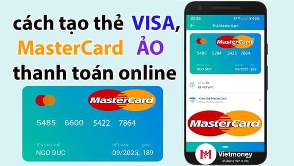 cách tạo visa ảo
