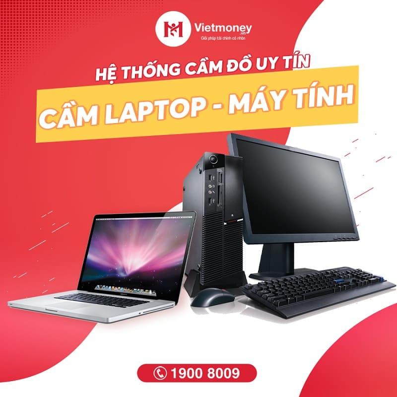 cầm laptop máy tính